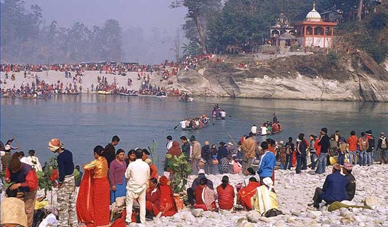 देवघाट स्नानका लागि निःशुल्क जलयात्रा