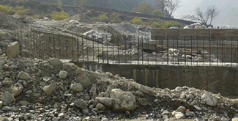 सम्झौता अवधि सकिँदासम्म पनि पुल निर्माणको काम शुरु भएन