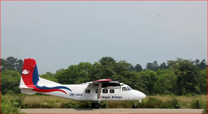 नेपाल एयरलाइन्सको काठमाडौं-तुलसीपुर परिक्षण उडान सफल, एकसाता भित्र सेवा नियमित