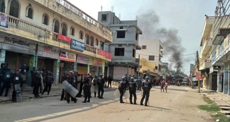 कृष्णनगरमा फेरि अनिश्चितकालिन कर्फ्यु