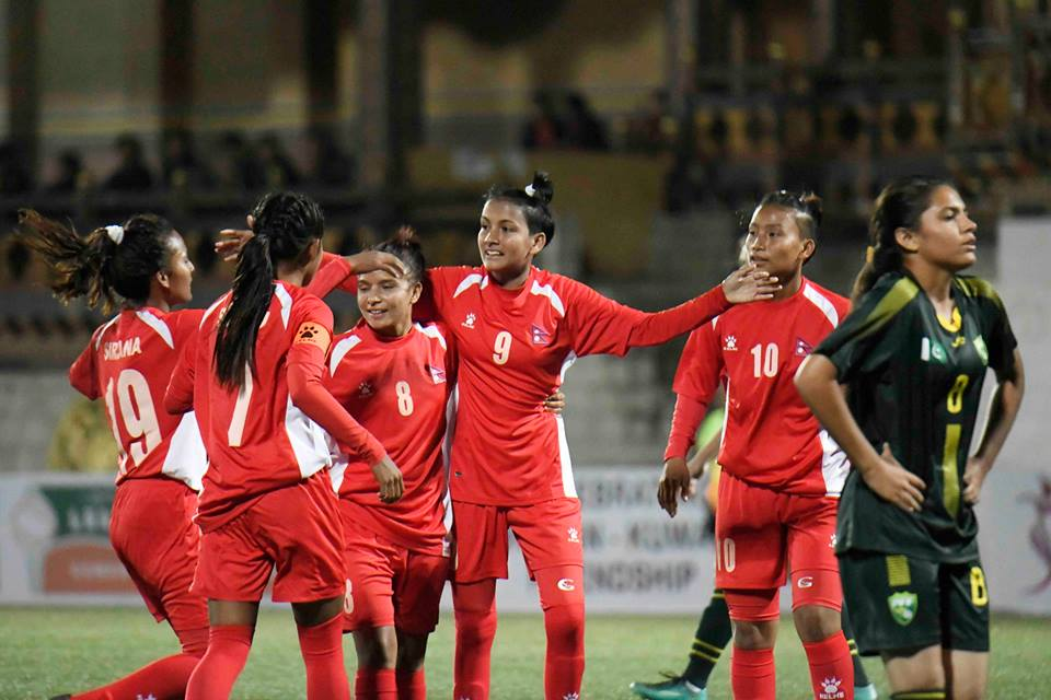 साफ यु–१८महिला च्याम्पियनसिप : फाइनल प्रवेशका लागि नेपाल र भारत भिड्दै