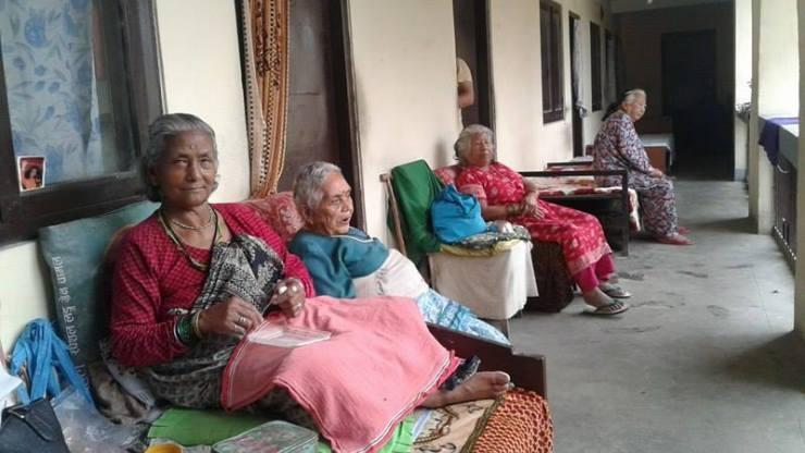 दशैँले छोएन आश्रमका वृद्धवृद्धालाई
