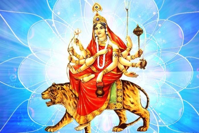 आज नवरात्रको तेस्रो दिन : चन्द्रघण्टाको पूजा आराधना गरिँदै