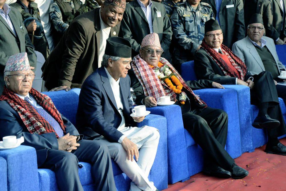 चियापानको महोलले देशैभर राजनीतिक सक्रियता ह्वात्तै बढ्योः अध्यक्ष दहाल