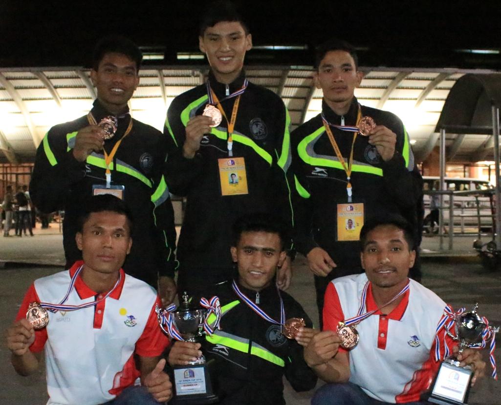 पदक विजेता सेपाकताक्रो टोली फर्कियो