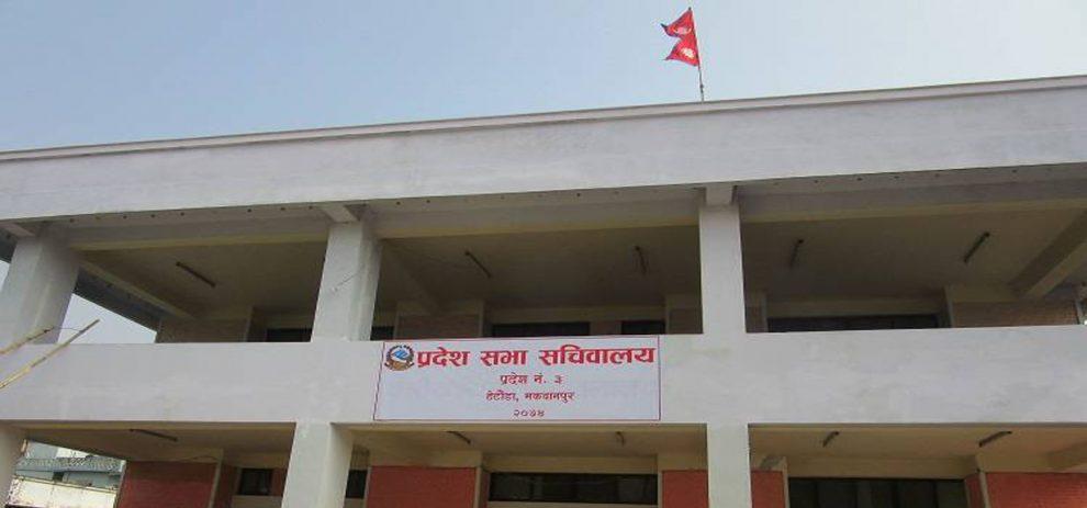 संसदीय दलको बैठकमा राजधानीको विषय प्रवेश