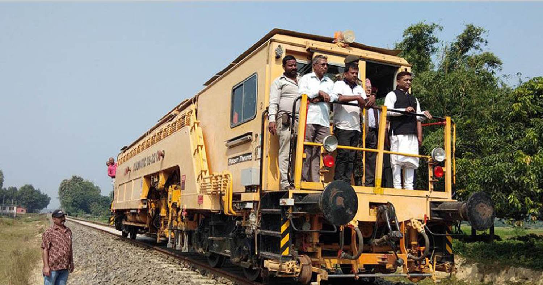 जयनगर–जनकपुर रेलमा यात्रा गर्दै मन्त्री महासेठले यसो भने !