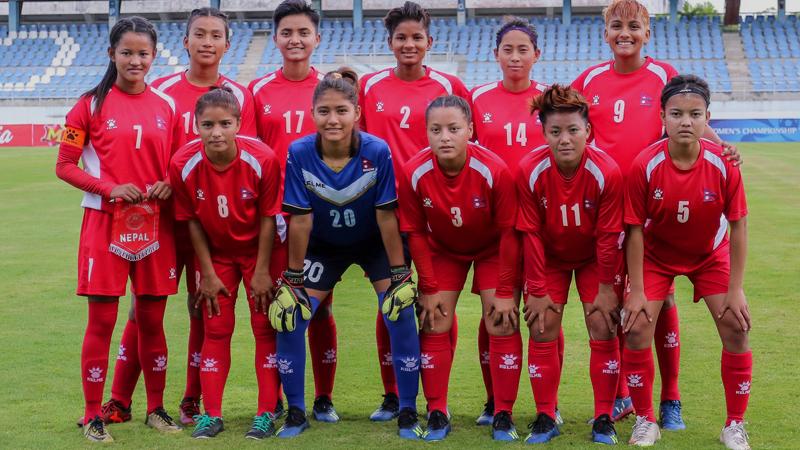 यू–१९ महिला च्याम्पियनसिपमा नेपालले भारतलाई २–० ले हरायो