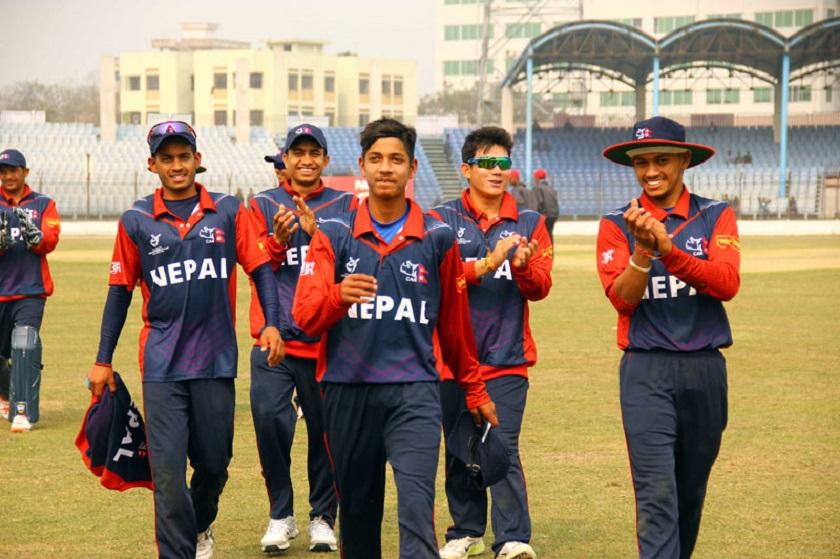 यू–१९ एशिया कप क्रिकेटः तीन विकेटले परािजत गर्दै भयो नेपाल बिजयी