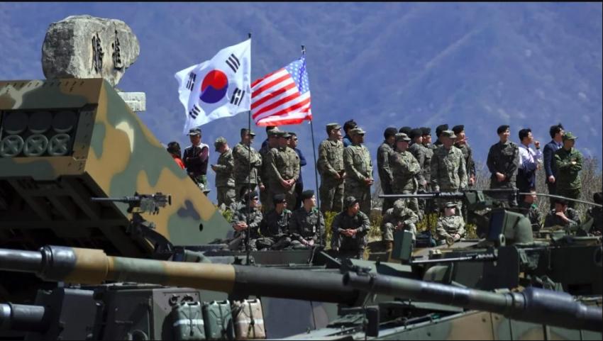 अमेरिका, दक्षिण कोरिया संयुक्त सैन्य अभ्यासमा कटौती
