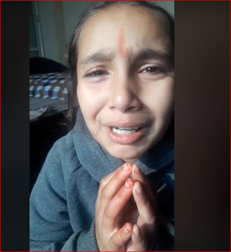 आठ वर्षिया बालिकाको बाबु हाएपछिको मार्मिता (भिडियो सहित)