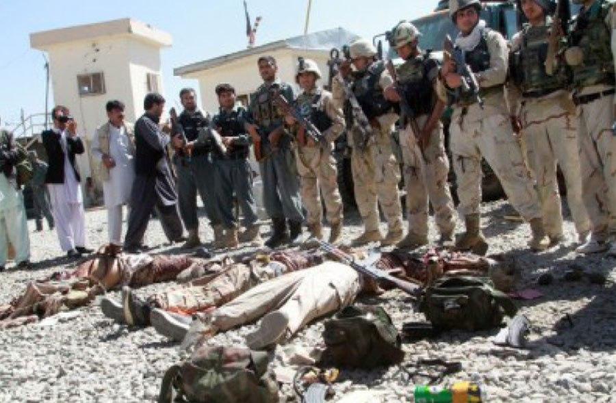 अफगानिस्तानमा २६ लडाकू मारिए