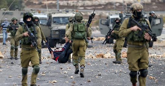 इजरायली सैनिकसँगको झडपमा सय प्यालेस्टायनी घाइते