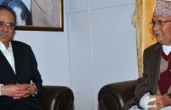 नेकपा अध्यक्षद्वयबिच ४ घण्टा लामो छलफल पनि बिना निष्कर्ष टुंगियो