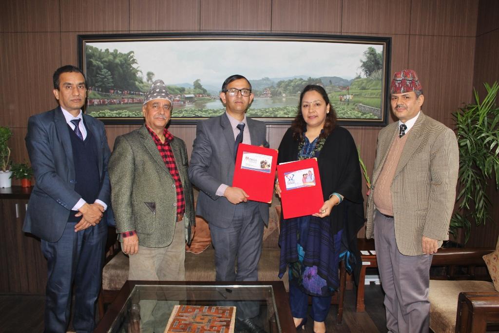 मेगा बैंक र सन नेपाल लाइफ इन्स्योरेन्सबीच बैंकास्योरेन्स सम्झौता