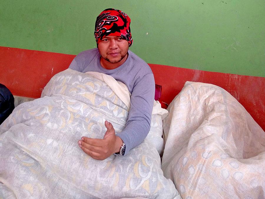 Agitating Dr KC, Thapa undergoing treatment in Ilam hospital