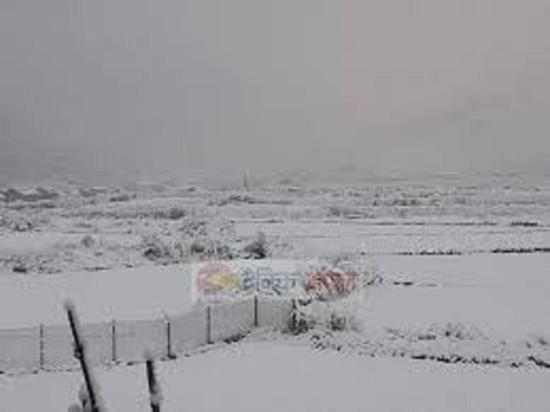उत्तरी धादिङमा हिजोदेखी नै हिमपात