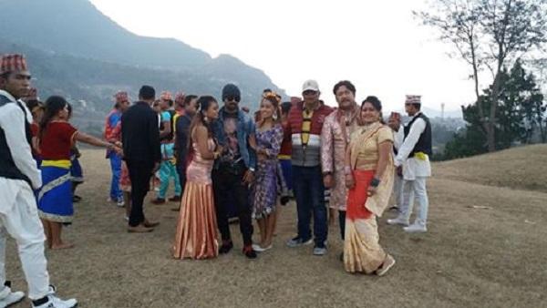 """नेपाली कथानक चलचित्र """"लव जोन""""को छायाँकन समाप्त"""