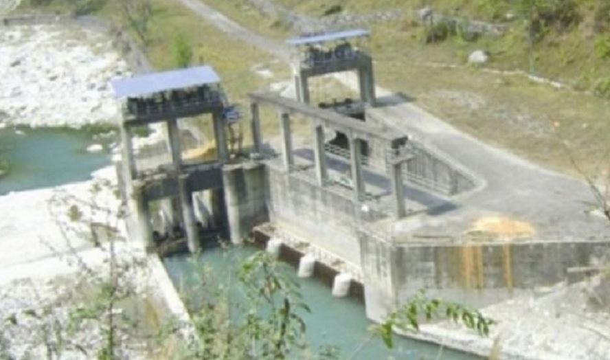 स्थानीयवासीको अवरोधले मध्यमोदी जलविद्युत् आयोजनाको काम बन्द