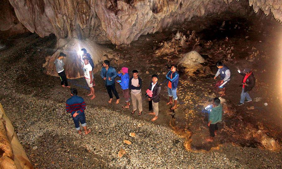 पदयात्रा पर्यटनसँग जोडिएको मिलेनियम गुफा