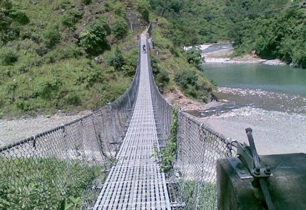 राप्तीघाटमा झोलुङ्गे पुल निर्माण शुरू