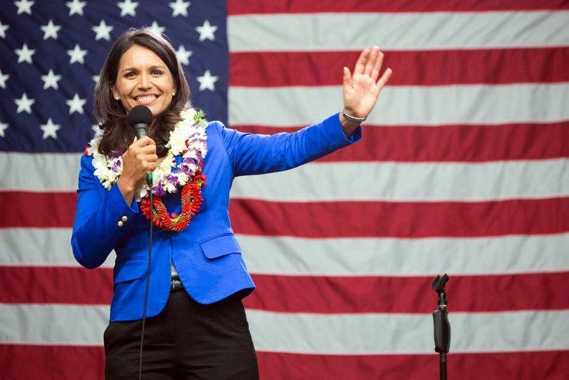 अमेरिकी राष्ट्रपतीय निर्वाचन :  ट्रम्पलाई टक्कर दिँदै हिन्दू महिला