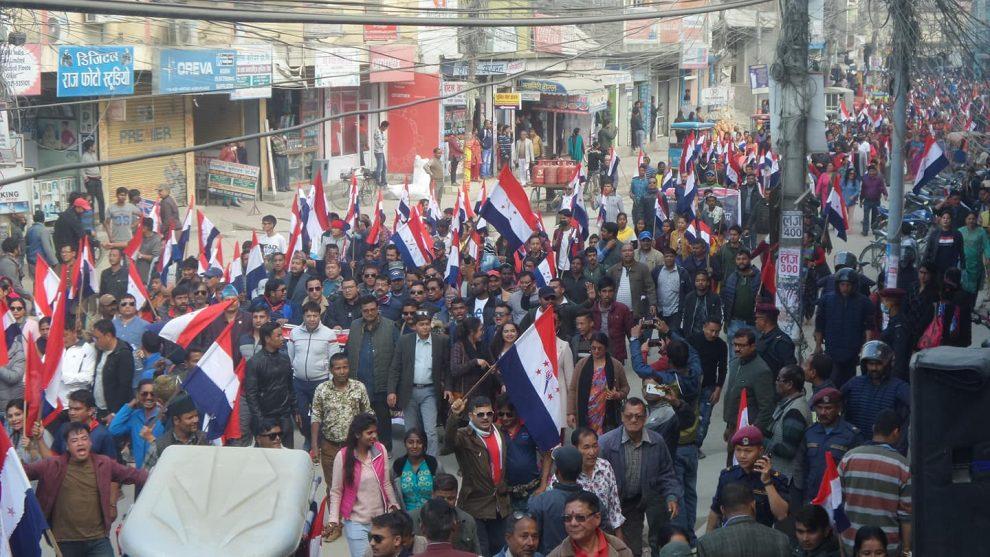 ओली सरकार नेपाली जनताको बिरुद्धमा, तरुण दलले चाँडै ठीक लगाउँछ: अध्यक्ष बस्नेत