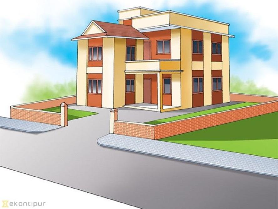 जुम्लाका स्थानीय तह भवनविहीन
