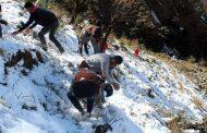 कर्णाली प्रदेशका जिल्लामा हिमपातले कत्तै खुशी, कतै दुःखी