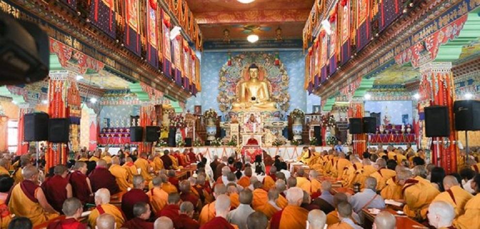 फागु पूर्णिमामा बौद्ध धर्मावलम्बीले विशेष पूजा