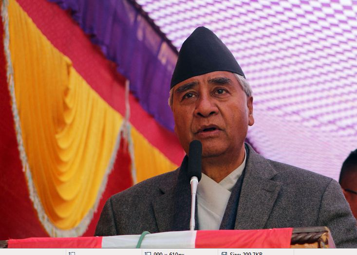 Government trying to muzzle up press freedom: President Deuba