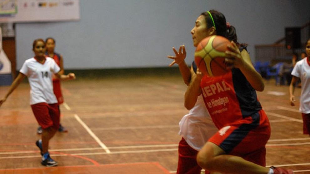 बास्केटबल खेलको तेस्रो दिन, महिलातर्फको खेल सम्पन्न