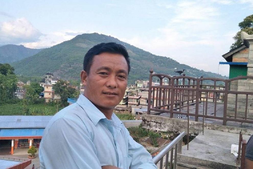 विप्लव निकट शिक्षक सङ्गठनका अध्यक्ष बुढामगर पक्राउ