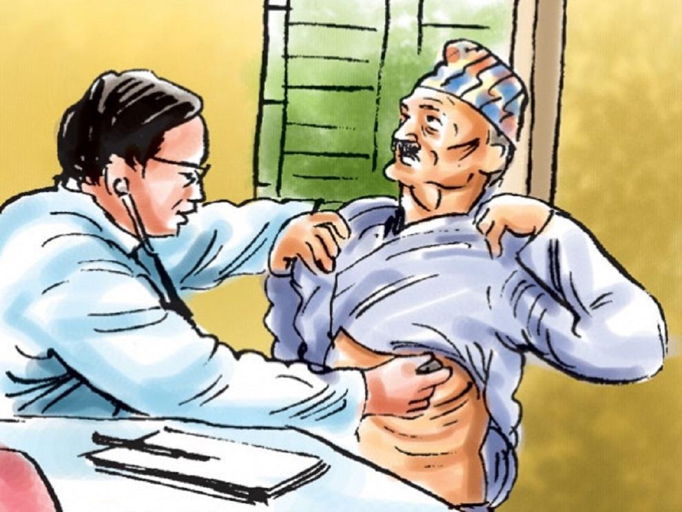 ज्येष्ठ नागरिकको निःशुल्क स्वास्थ्य परीक्षण शुरु