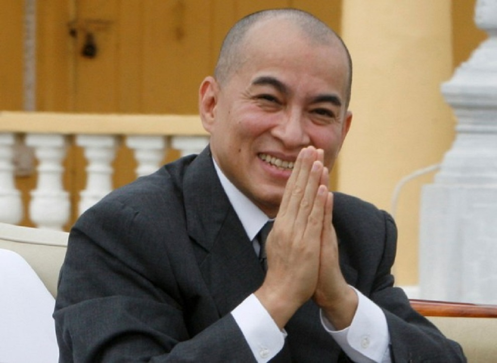 कम्बोडियाली राजा स्वास्थ्य परीक्षणपछि स्वदेश फिर्ता