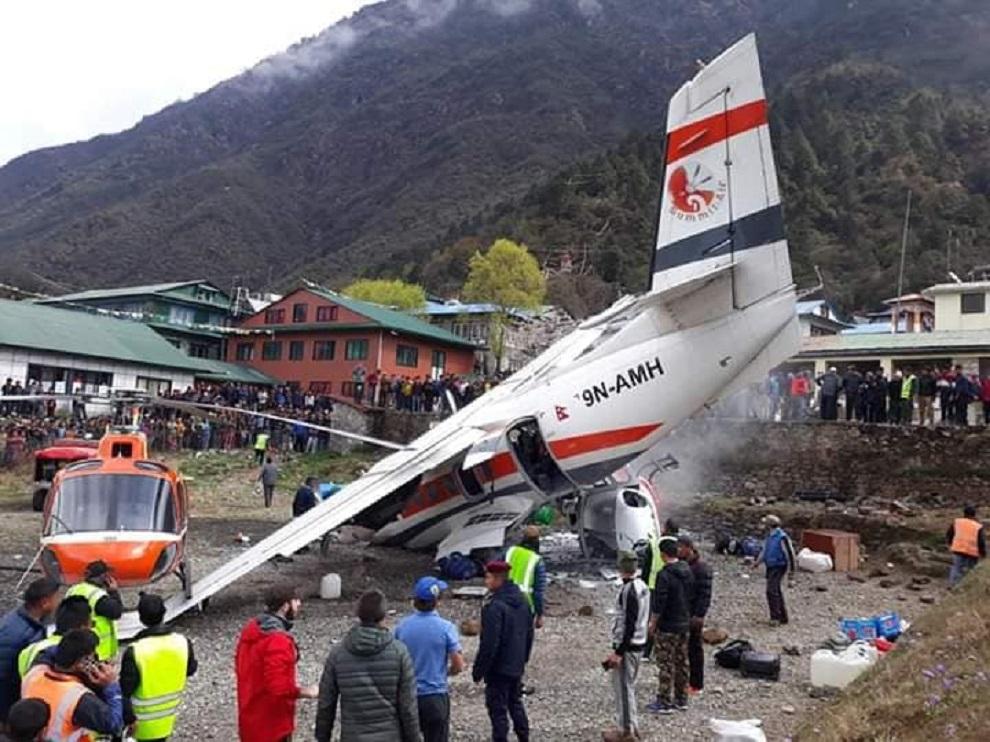 २०७६ को सुरुवातमै लुक्लामा विमान दुर्घटना, तीनको मृत्यु (अपडेट)
