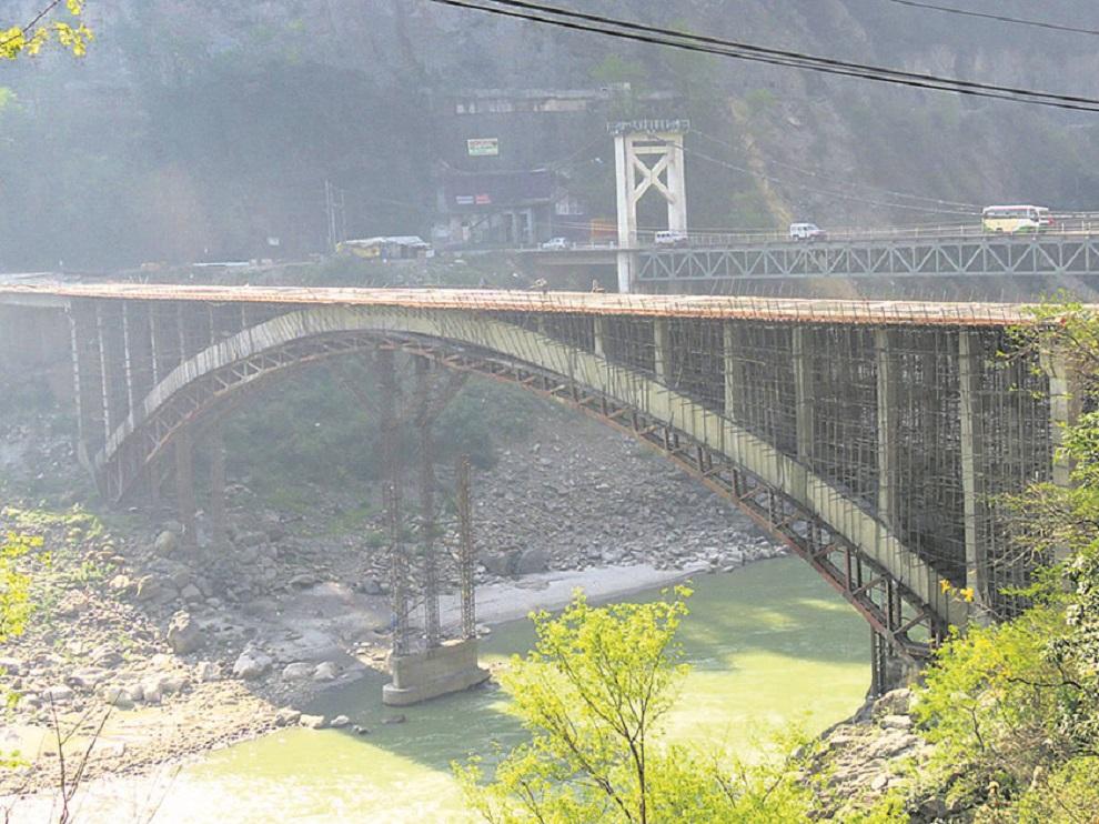 मुग्लिन आर्क ब्रिज जेठदेखि सञ्चालनमा आउने