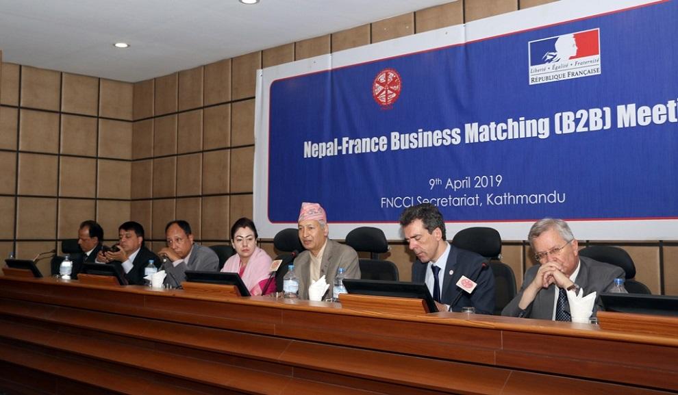 नेपालको आर्थिक समृद्धि हासिल गर्ने लक्ष्यमा सक्दो सहयोग: फ्रान्सेली उद्यमी