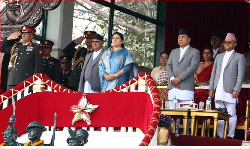राष्ट्रपति, प्रधानमन्त्रीलगायतका विशिष्ट व्यक्तिको उपस्थितिका साथ घोडेजात्रा सम्पन्न