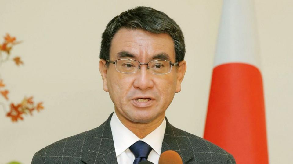जापानी विदेश मन्त्री चीन भ्रमणमा