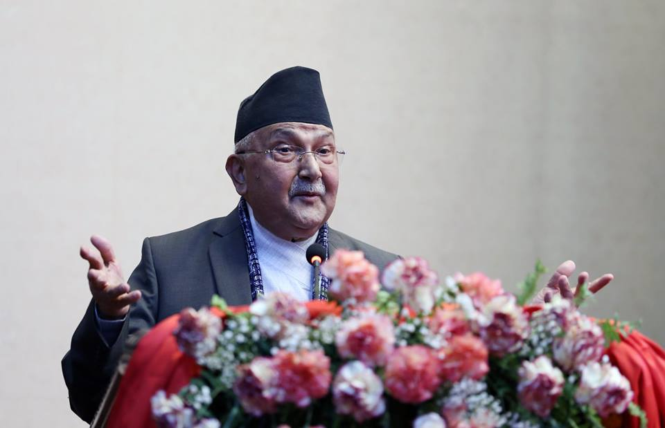 None can usurp government land: PM Oli