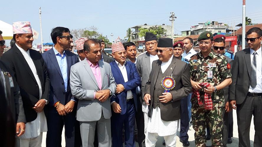 अब हरेक दिन नेपाल विकासको पाईला तीव्र गतिमा- प्रधानमन्त्री ओली