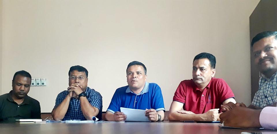 पत्रकार महासंघले ओली सरकार बिरुद्ध गर्यो दोस्रो चरणको आन्दोलनको घोषणा