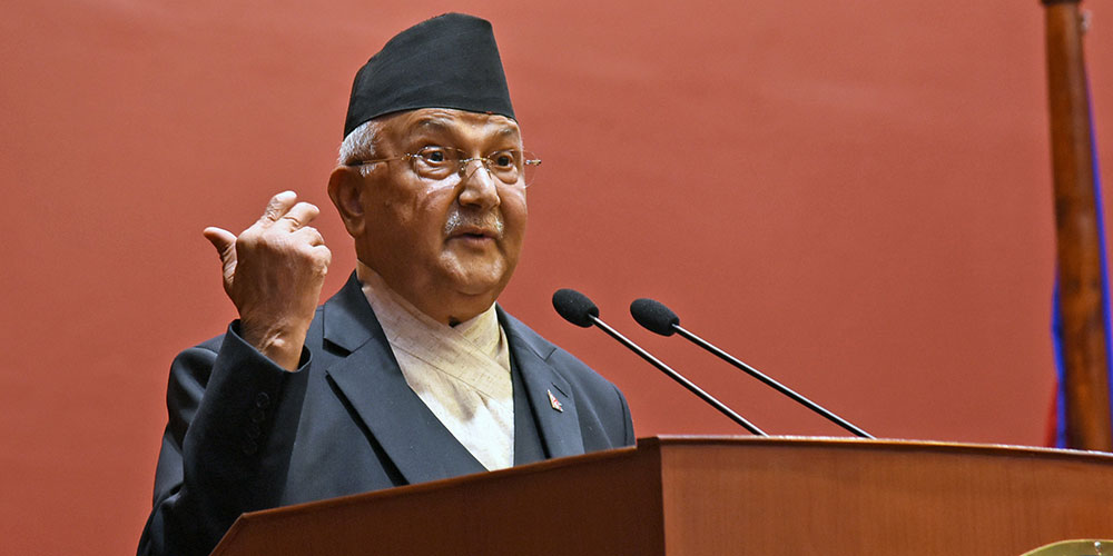 Nepali people should have pesticide free veggies: PM Oli