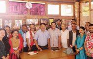 उपसभापति, सचिव र सहसचिवलाई नेता सिंहको बधाई !