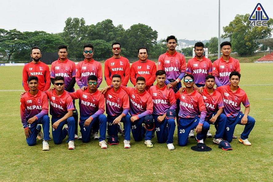 यू–१९ एसिया कप छनोट क्रिकेटमा चीनलाई १० विकेटले पराजित गर्दै नेपाल सेमिफाइनलमा !