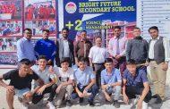 नेपाली अण्डर–१६ फुटबलरलाई ब्राइट फ्युचरको छात्रवृति