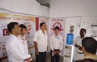महालक्ष्मी विकास बैंकद्वारा अस्पताललाई निशुल्क सामाग्री