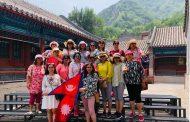 चीनको विकास बुझेर फर्किए पोखराका पर्यटन व्यवसायी महिला