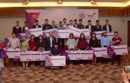 हावाहुरी पीडितको पुनःस्थापनाका लागि एन आई सी एशिया बैंकद्वारा नगद सहयोग